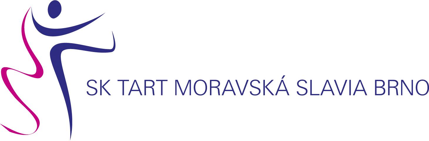 ... logo sportovního klubu moderní gymnastiky SK Moravská Slavia 210891c3f0e